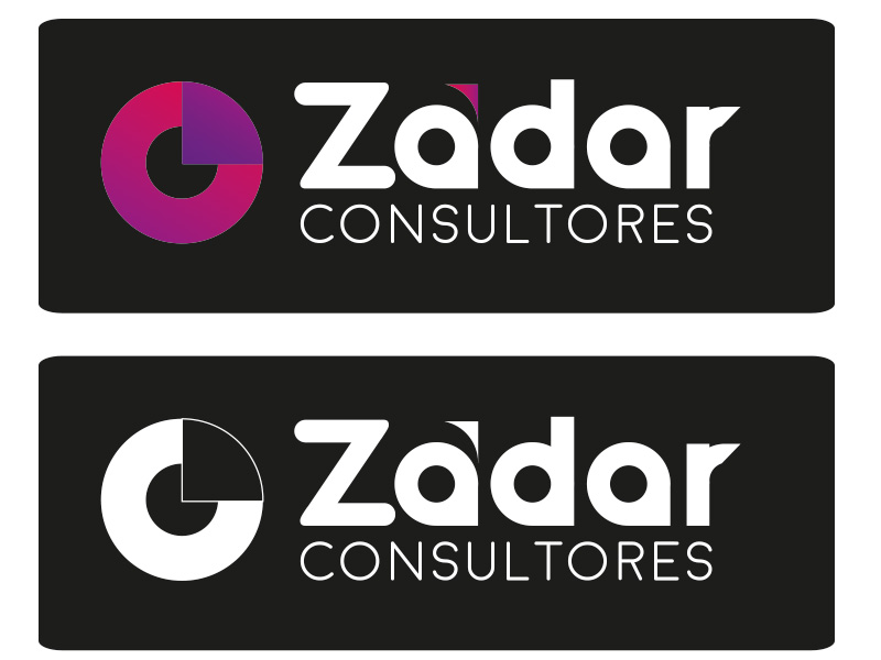 Identidad corporativa de Zádar Consultores