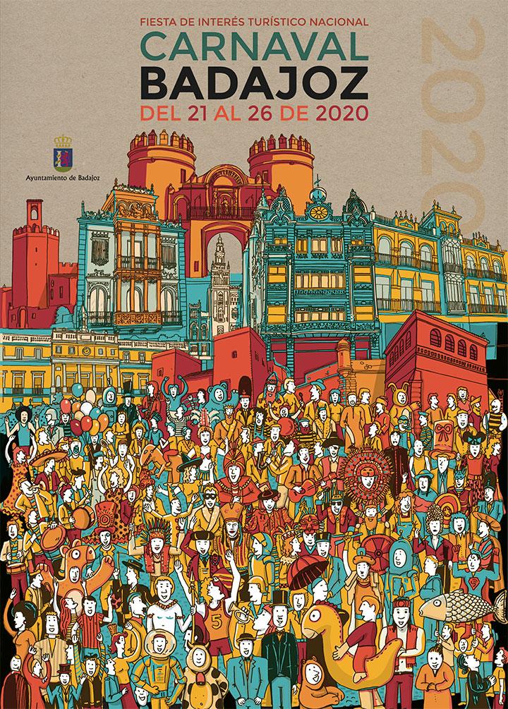 cartel carnaval Badajoz