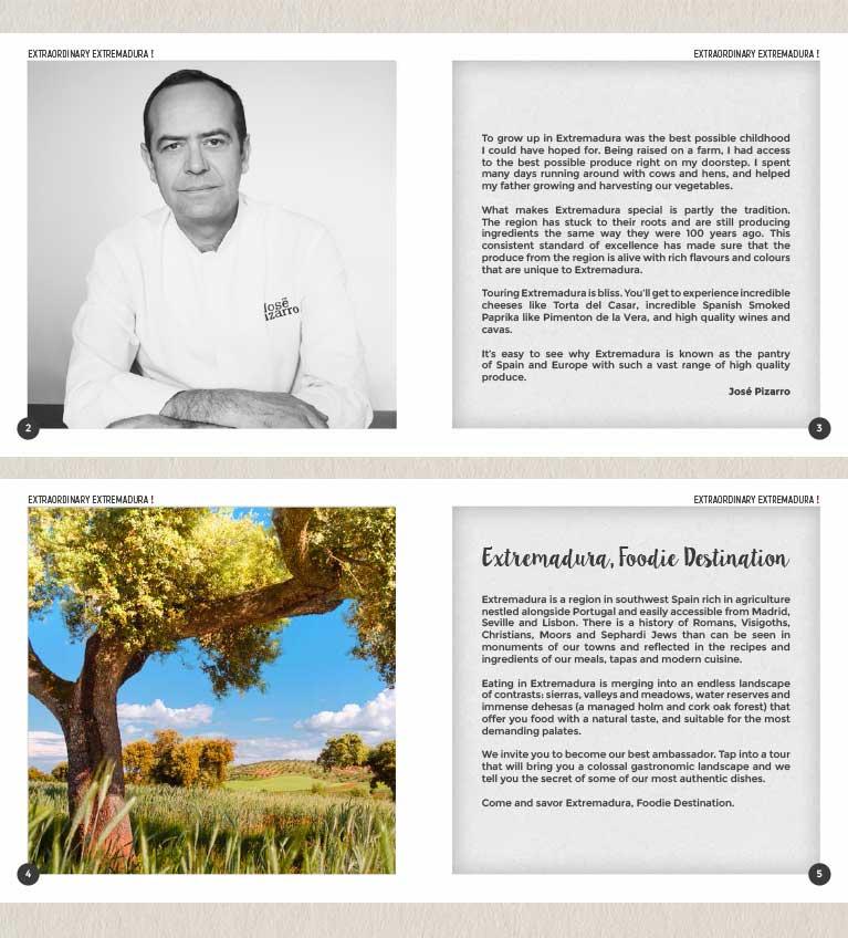 Extremadura Foodie destination por EXTREMEÑO ESTUDIO