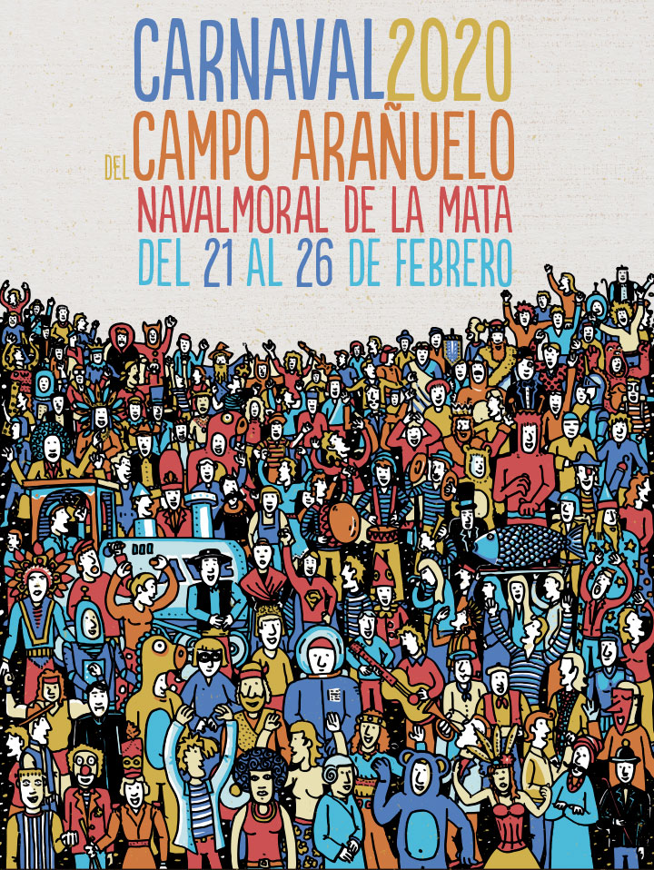 cartel carnaval Navalmoral