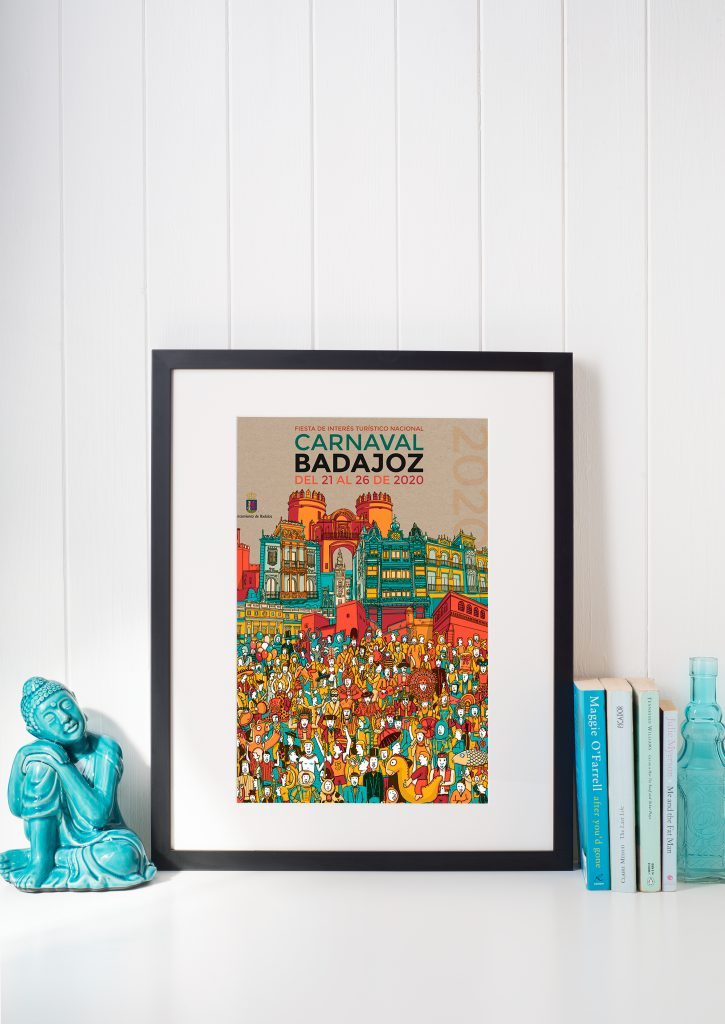 Cartel de Carnaval de Badajoz