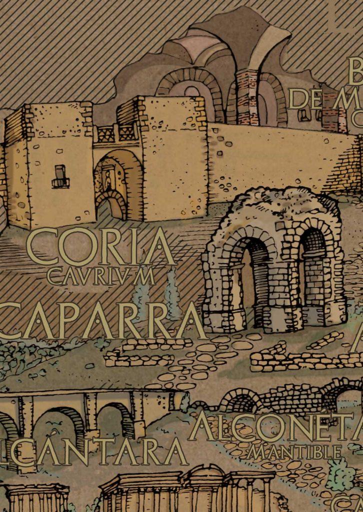 Extremadura romana por EXTREMEÑO estudio