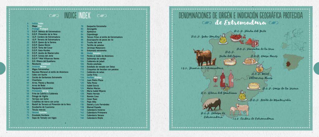 libro Extremadura cuatro estaciones