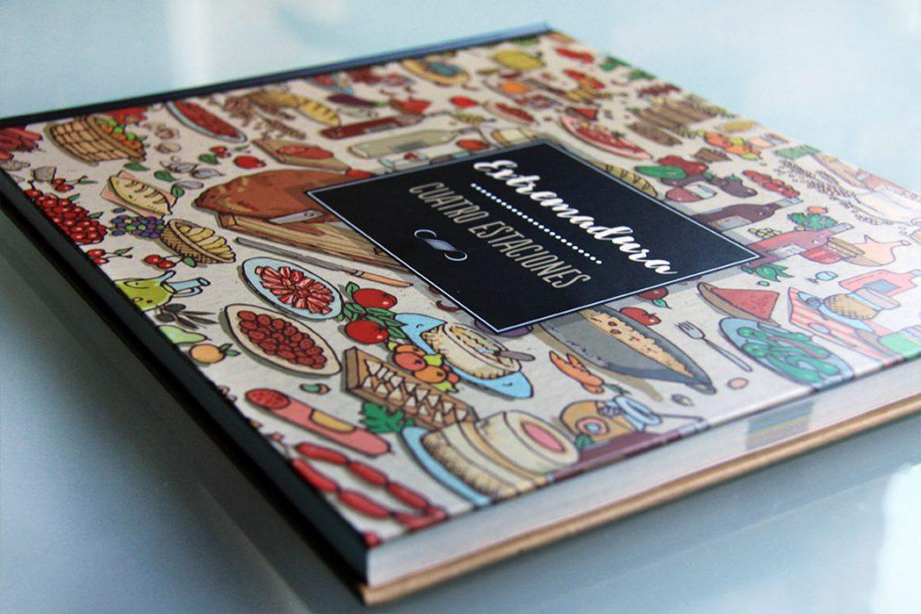 """libro """"Extremadura cuatro estaciones"""" por extremeño estudio"""