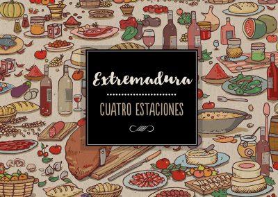 """Libro """"Extremadura, Cuatro Estaciones"""""""