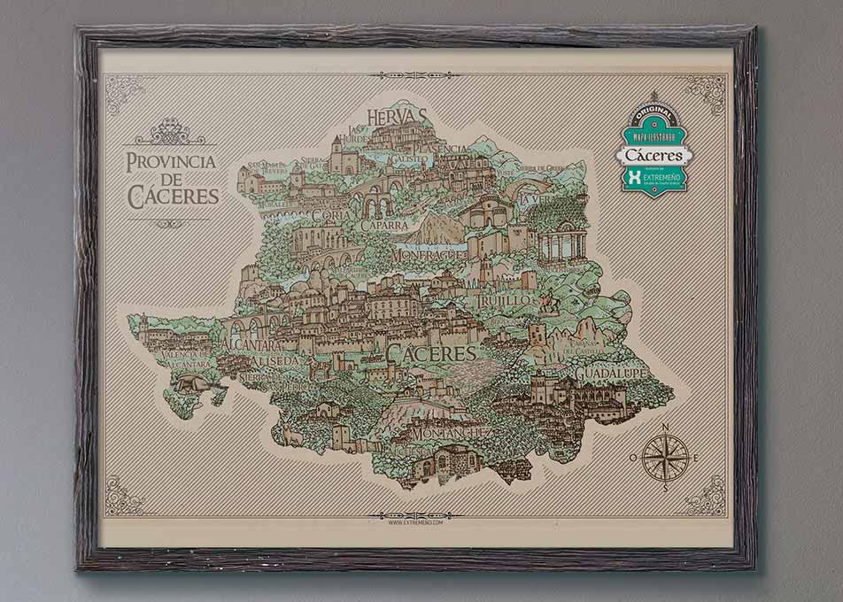 composición de Mapa Cáceres
