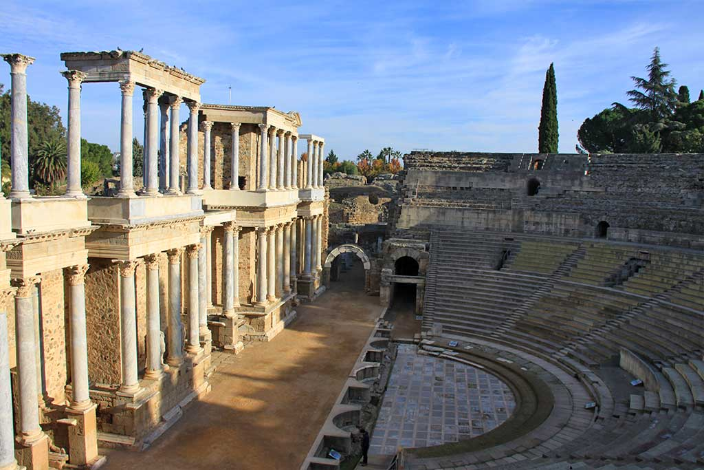 Mérida , Teatro Romano