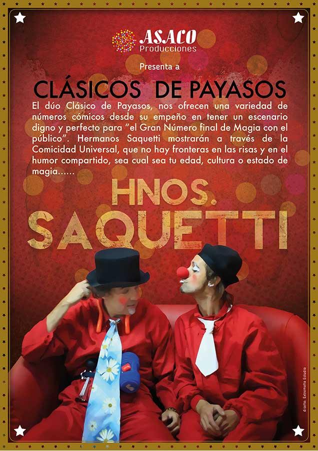 Hermanos saquetti - asaco producciones - Extremeño estudio