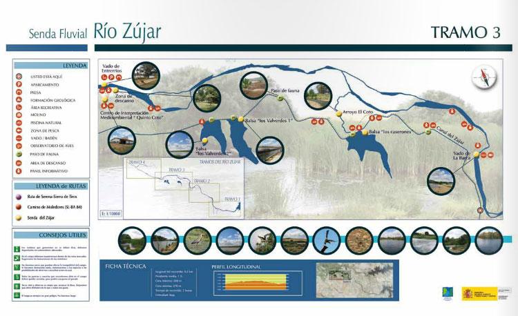 Señaletica Río Zújar