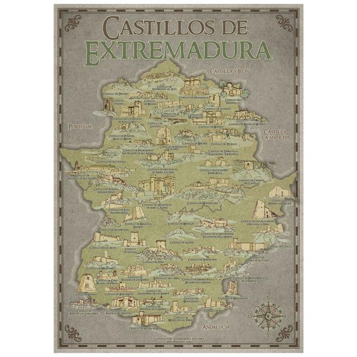 Poster castillos