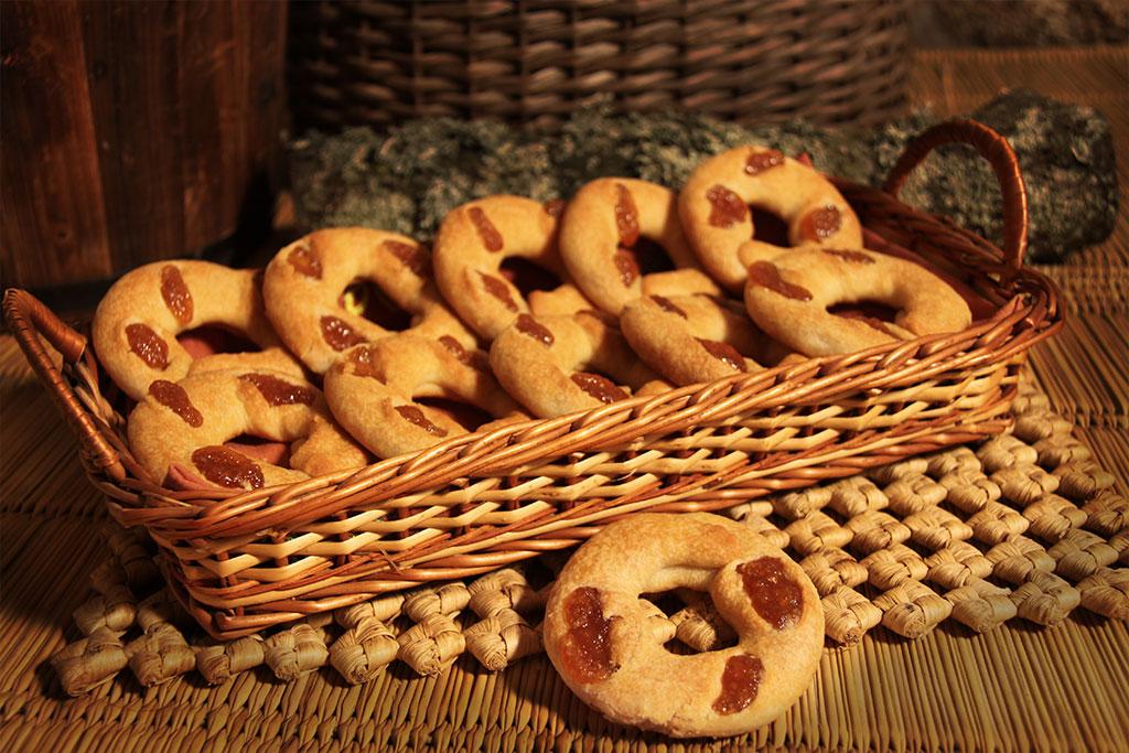 rosquillas de alfajor
